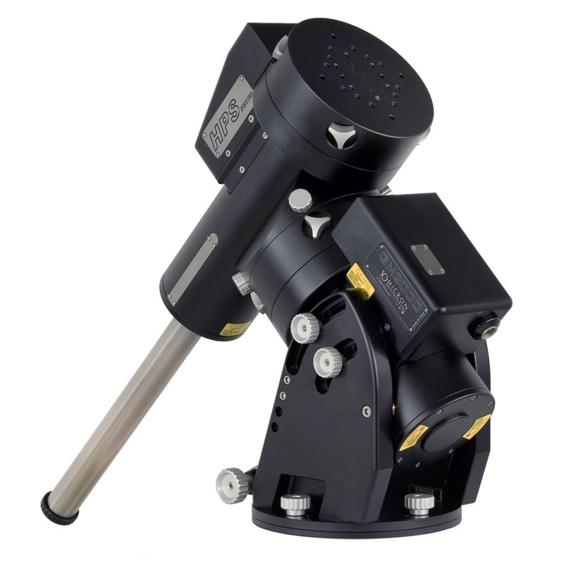 "GM 2000 HPS II ""Ultraport"" Equatorial Mount Head  (Standard Package), including: GM 2000 HPS II Mount - Ultraport version with precision absolute axis-encoders, control box with onboard-intelligence (Linux-processor),V. 2 - HPS version firmware, stan"