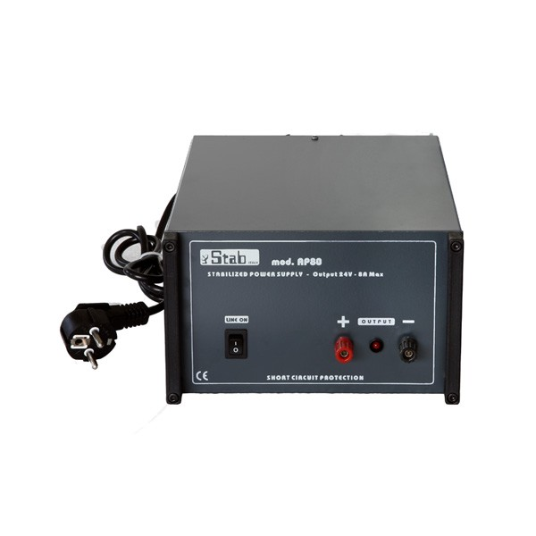 Stabilized Power Supply 230V input / 24V 4A output  (only for GM2000 v.1 or GM1000)