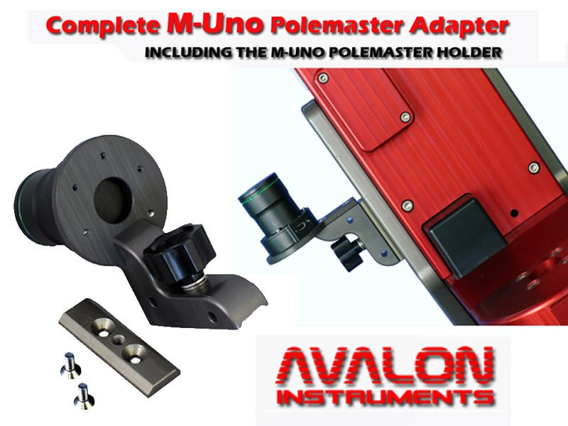AVALON ACCESSORIES FOR M-UNO MOUNTS
