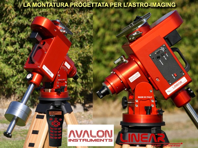 AVALON LINEAR VERSIONE SYNSCAN, MONTATURA EQUATORIALE, AVALON INSTRUMENTS