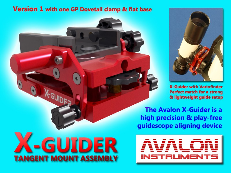 AVALON X-GUIDER e ACCESSORI - NUOVI E IMBALLATI - AVALON INSTRUMENTS