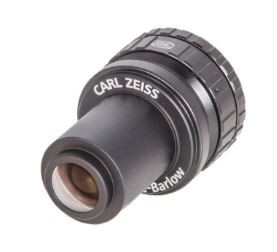 Baader Lente di Barlow Carl Zeiss 31.8mm 2x-4x completa di baader click lock.