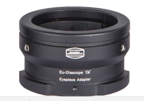 Diascope Bayonet 1¼'' Ocular-Adapter (to fit normal 1¼'' eyepieces onto  Carl Zeiss Diascope spotting scopes)