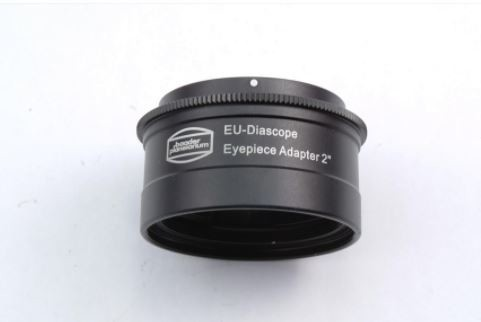 2'' Diascope Bajonett Eyepiece Adapter - to fit all Carl Zeiss made Diascope-eyepieces onto 2'' telescope focusers (use 1¼'' nosepiece #2458105)