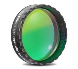 Baader Filtro Verde visuale da 1¼'' (31.8mm). Passabanda da 500nm