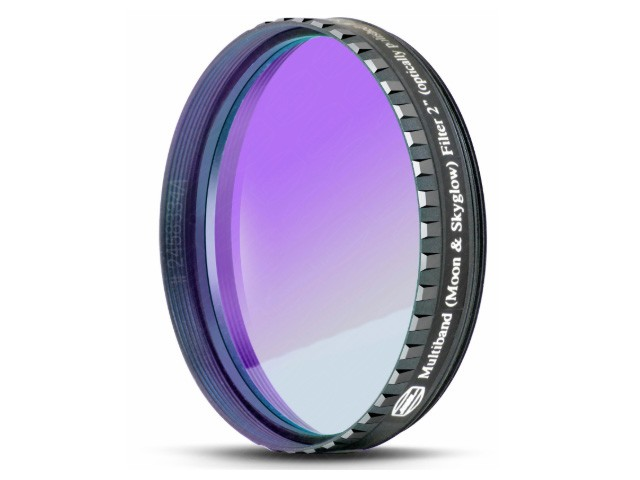 Baader Filtro NEODYMIUM & IR-Cut da 2'' (50.8mm) con trattamento Phantom Coating Group. Ideale per ridurre luce diffusa e inquinamento luminoso