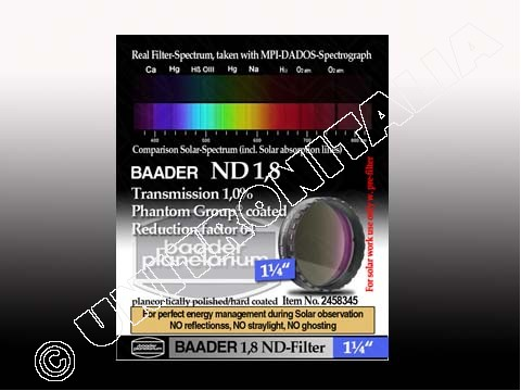 Baader Filtro Neutro ND da 1¼
