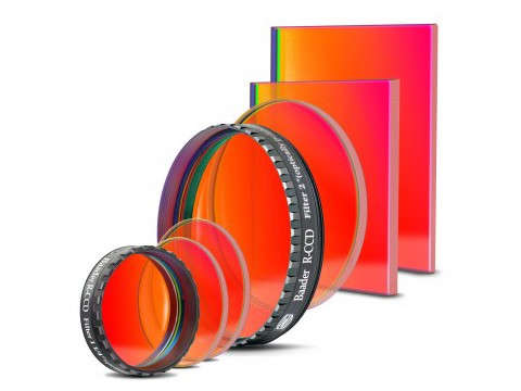 Baader Filtro  R-CCD Filter 31x2 mm di spessore, round