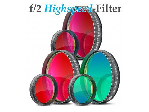 Filtro f/2 Highspeed H-alpha da 2
