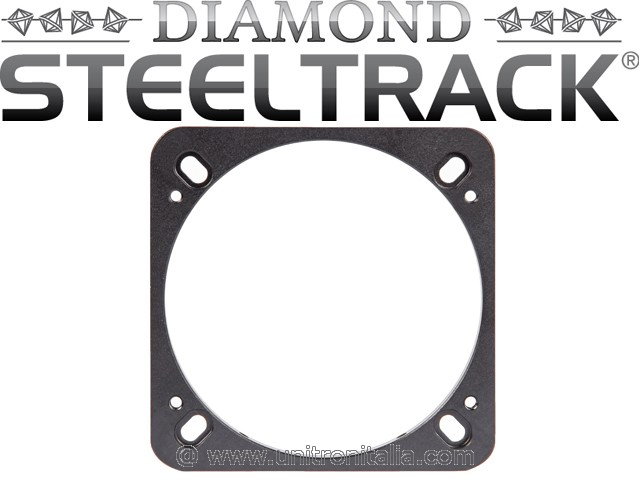 Adattatore a base piatta per fuocheggiatori BDS (Steeltrack Diamond Focuser)