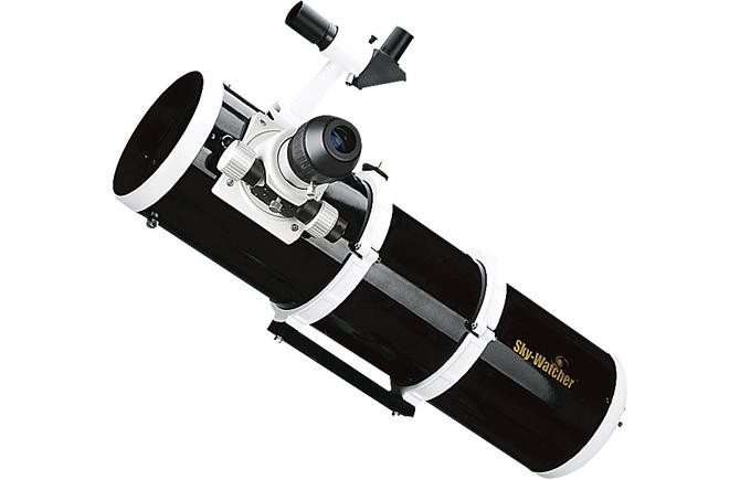 Tubo ottico riflettore Newton Skywatcher Black Diamond: 150/750mm, cercatore, oculare, diagonale. Fuocheggiatore dual speed con demoltiplica