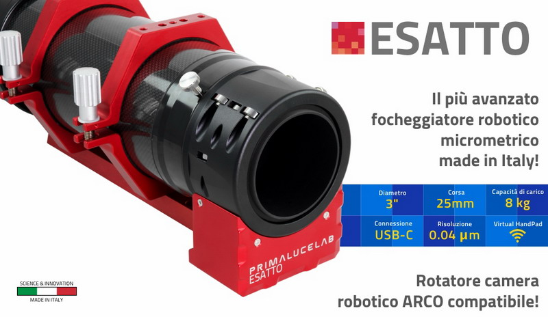ESATTO 3 robotic microfocuser (promo price for pre-orders)
