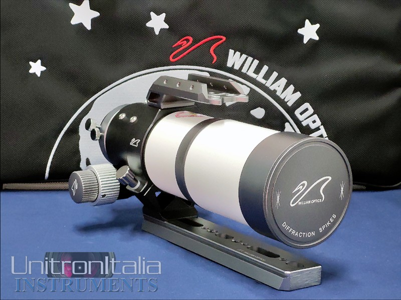 Rifrattore William Optics ZentihStar 61 MARK II APO - F/5.9 (FPL-53 doppietto) completo di: Tubo ott